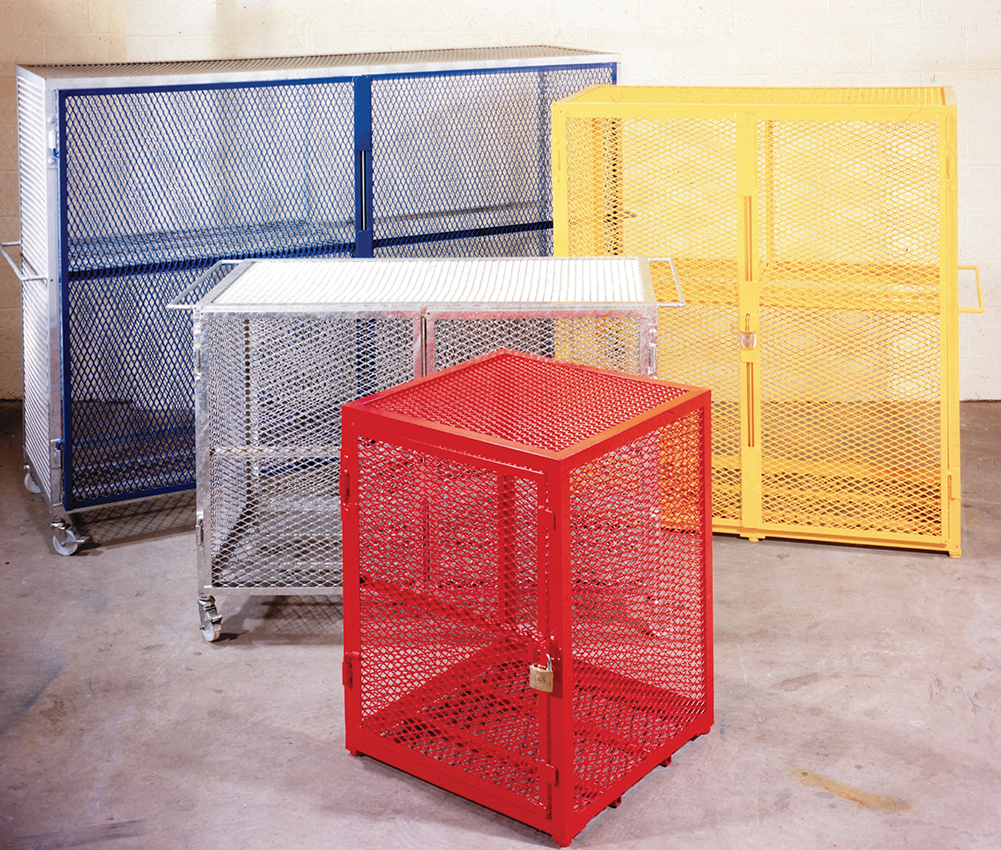 Expanded Metal Containers