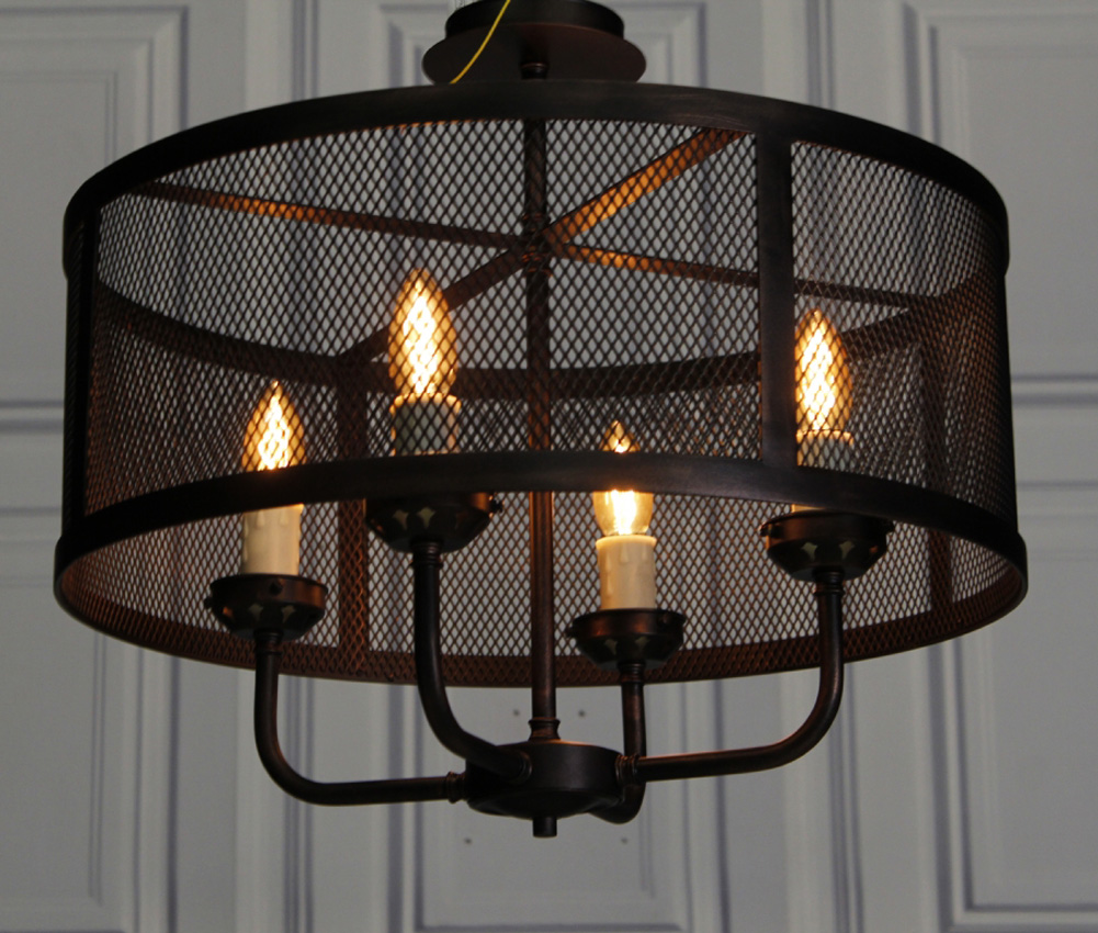 Expanded Metal Lamp