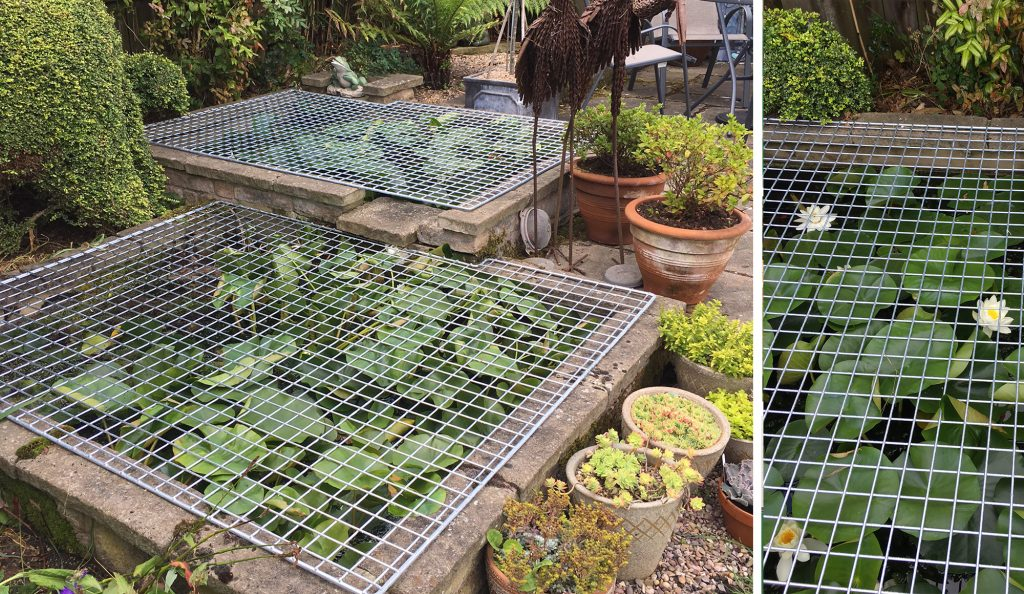 Wire Mesh Pond and Well Covers