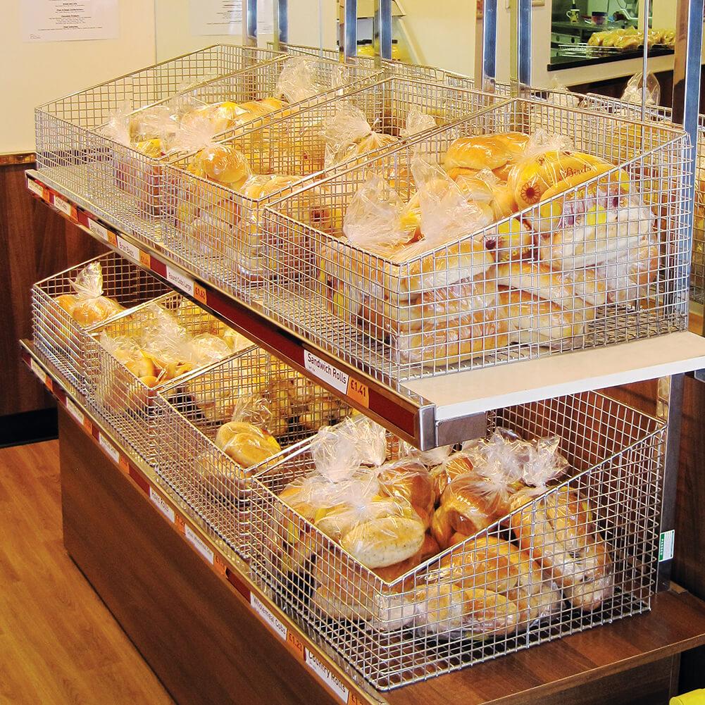 Wire Mesh Bread Baskets